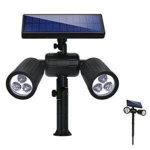 Quanto Costa lampade solari a led da esterno 300 lmilluminazione giardino solare6 led