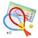 Quanto Costa akokie racchetta tennis volano badminton 2 in 1giochi allaperto giochi da