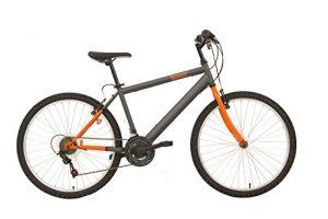 Quanto Costa flli schiano mountain bike thunder bicicletta da uomo grigioarancio