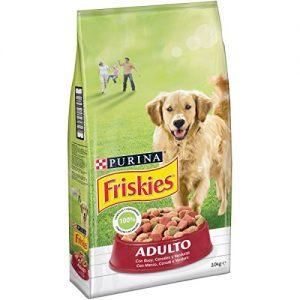 Quanto Costa friskies cane crocchette adulto con manzo cereali e verdure aggiunte 10 kg