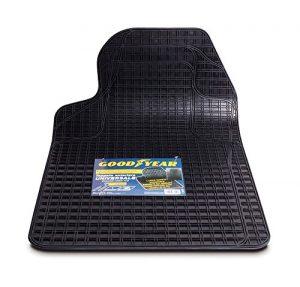 Quanto Costa goodyear 77140 tappeto auto singolo in gomma universale e sagomabile nero
