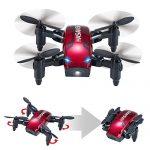 Quanto Costa hasakee mini drone pieghevole con controllo altitudine e funzione