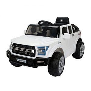 Quanto Costa homcom macchinina elettrica modello jeep per bambini 111 63 57cm bianco