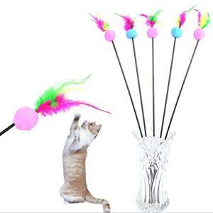 Quanto Costa iyhouse falso topo con ventosa gatto giocattolo piuma colore casuale
