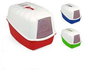 Quanto Costa mps komoda toilette per gatti chiusa completa di filtro e paletta colori