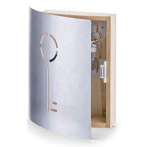 Quanto Costa zeller 13846 appendichiavi in faggio ed acciaio inox 215 x 6 x 245 cm