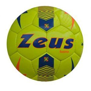Quanto Costa zeus pallone da calcio tuono ball calcetto sport pegashop taglia 4 giallo