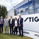 Castelfranco, posa della prima pietra per il nuovo quartier generale di Stiga - TrevisoToday