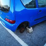 Domodossola, furti di gomme d'auto nel posteggio - Eco Risveglio