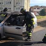 Fumo dall'autoradio, panico a bordo di una vettura a Soverato - LaC news24