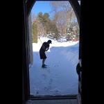 Il golfista sfida il gelo e gioca con le temperature sotto zero - YouReporter