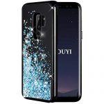 Quanto Costa kouyi cover galaxy s9 plus 3d glitter liquido silicone tpu bumper telefono