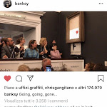 L'opera si autodistrugge subito dopo l'asta da 1,2 milioni. Il genio di Banksy ha colpito ancora? - Forbes Italia