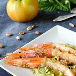 Ricetta - Gamberoni con crema di zucchine - iFood