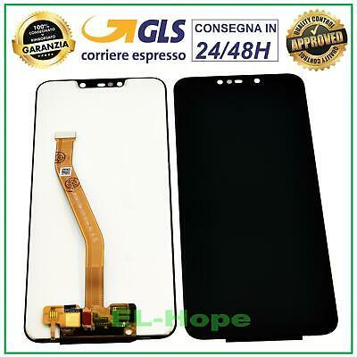 DISPLAY HUAWEI MATE 20 LITE SNE-LX1 SNE-AL00 LCD TOUCH SCREEN SCHERMO VETRO NERO
